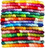 14 SKIENS Embroidery Floss - Cross Stitch Threads