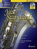 Jazz Standards: 14 Most Beautiful Jazz Songs. Alt-Saxophon. Ausgabe mit CD. (Schott Saxophone Lounge)