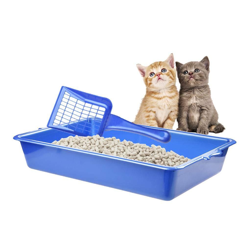 SUFU - Arenero semicerrado para Gatos con Pala: Amazon.es: Productos para mascotas