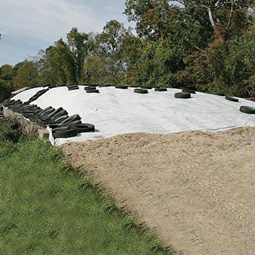 Black/White Silage Film 5 mil - 40'W x 100'L by FarmTek (Image #3)