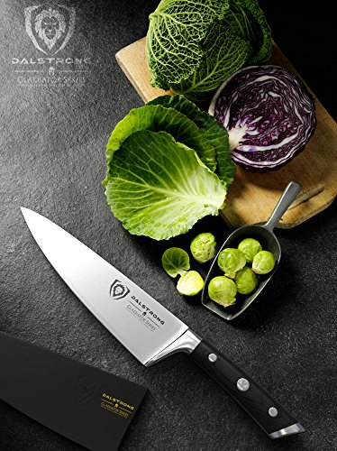 DALSTRONG Chef Knife - Gladiator Series - German HC Steel - 8' (200mm)