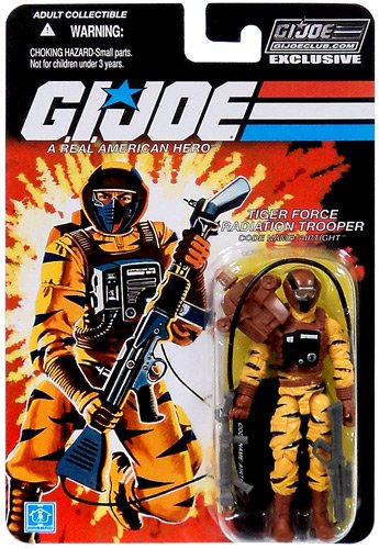 Airtight Tiger Force Radiation Trooper GI Joe Club Exclusive Action Figure - Exclusive Gi Joe