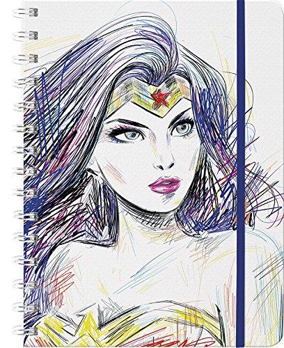2019 Wonder Woman Weekly Note Planner