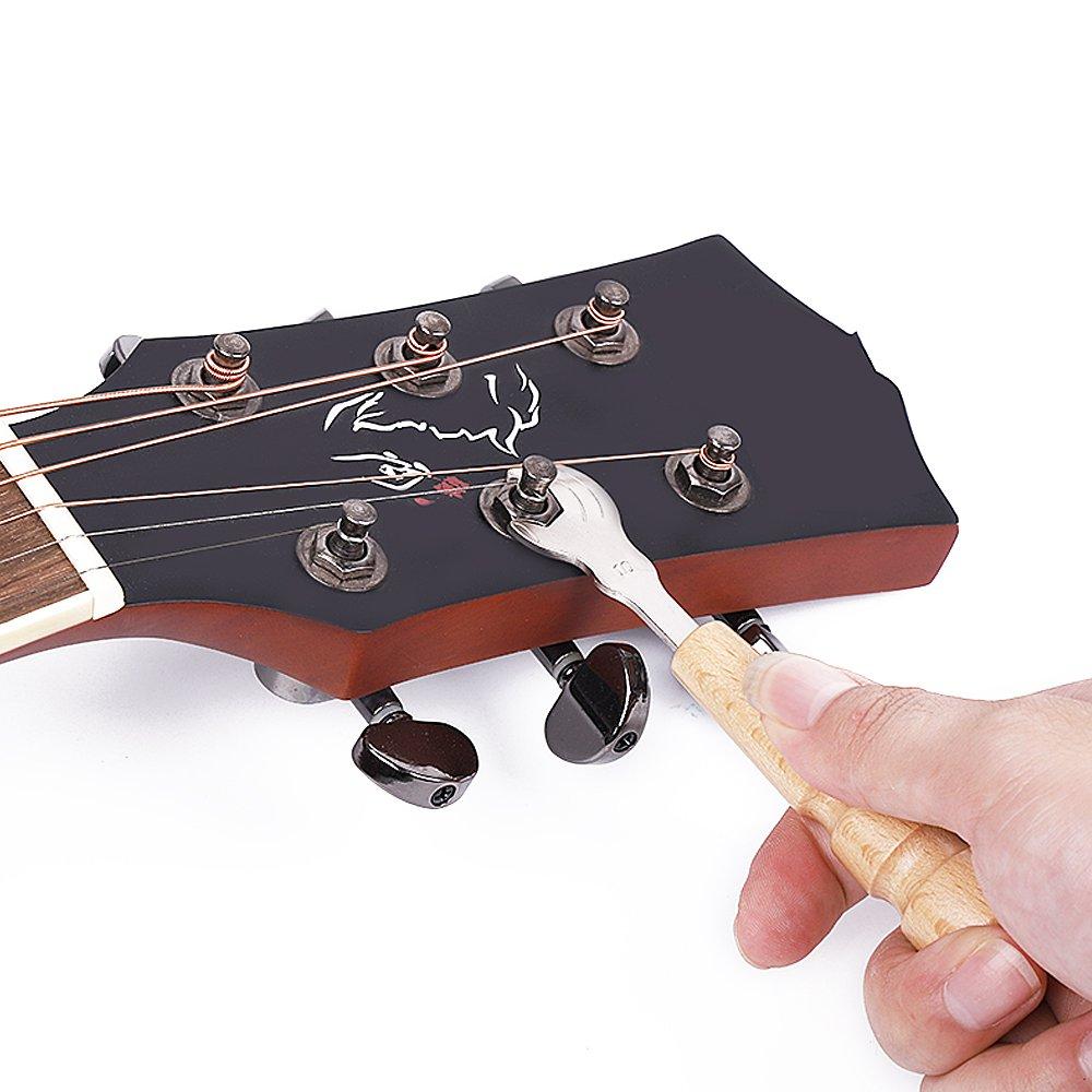 Professional Acoustic Guitar Repair Tools Guitar Maintenance Kit by Guitar and Bass Tools (Image #4)