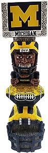 Elite Fan Shop NCAA Tiki Totem Figurine 14.5