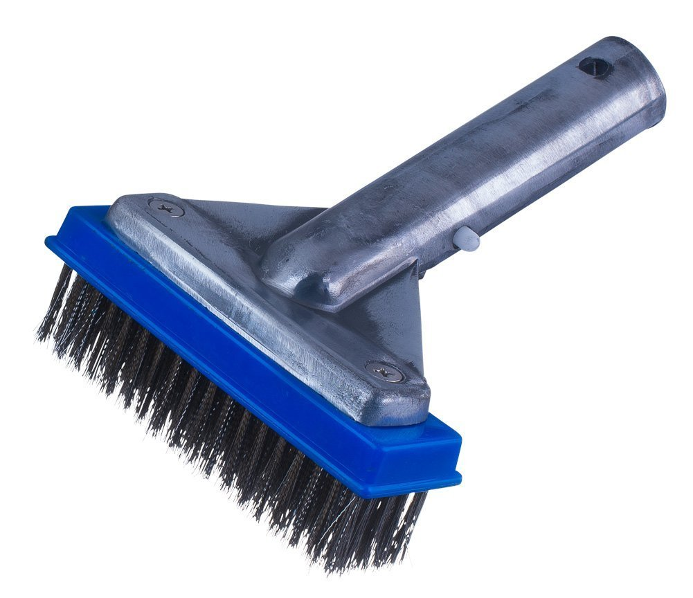 Milliard 5'' Heavy Duty Wire Pool Algae Brush, Designed for Concrete and Gunite Pools Great on Extremely Tough Stains by Milliard