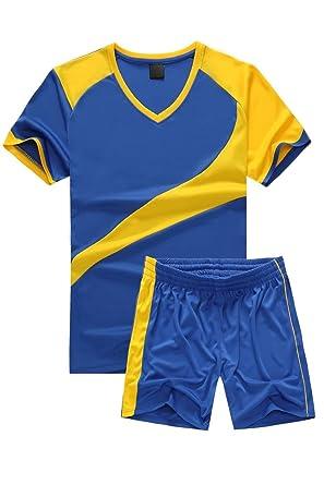 gut günstig neue Version KINDOYO Kinder Herren Fußball Teamtrikots Oberteile und ...