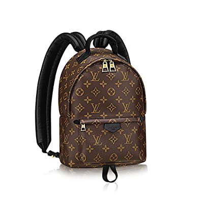 4a7798d5957c Authentic Louis Vuitton Monogram Canvas Palm Springs Backpack PM Handbag  Article  M41560 Made in France  Handbags  Amazon.com