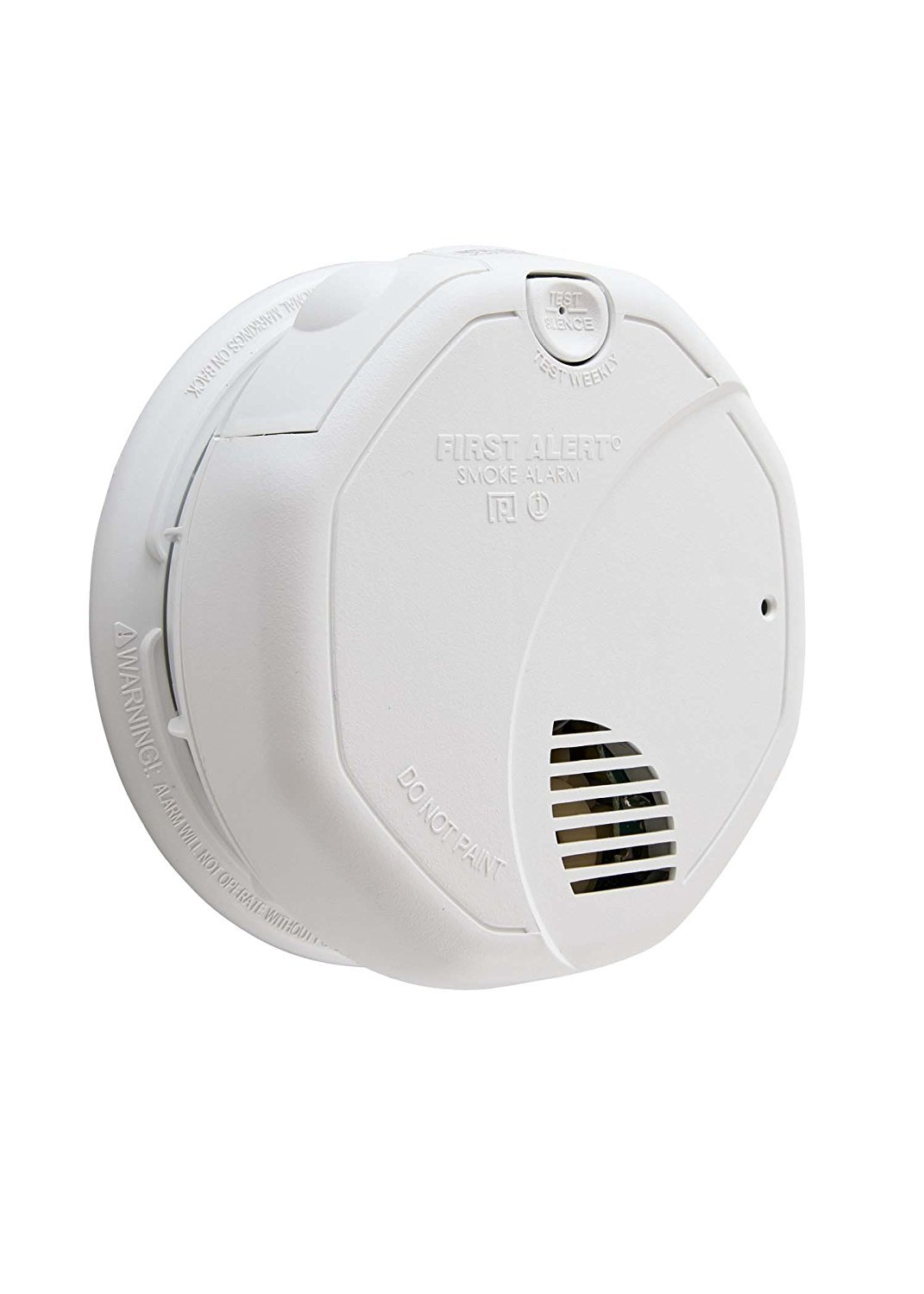 First Alert BRK 3120B-12 Hardwired Photoelectric and Ionization Smoke Alarm with Battery Backup 12 Pack by First Alert (Image #2)