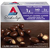 Atkins Endulge Treats, Chocolaty Covered Almonds, 5 Count