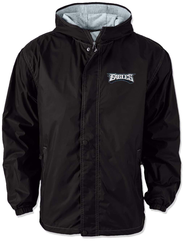 (ダンブルックアパレル) Dunbrooke Apparel NFLレガシーナイロンフード付きジャケット B06Y4K77F1 Large|Minnesota Vikings  Large