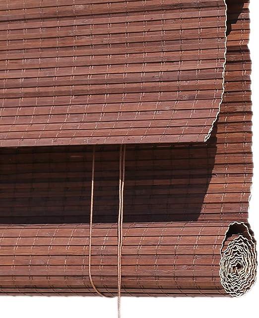 Persiana de bambú Persiana Exterior Enrollable para Patio Exterior ...