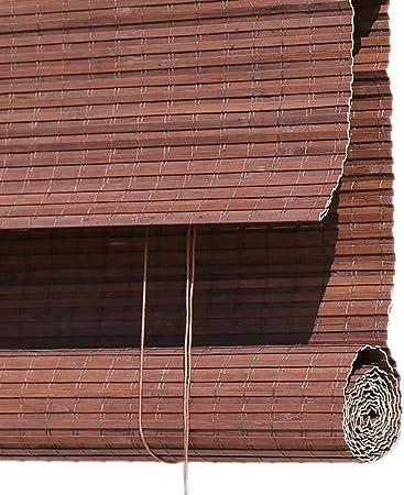 Persiana de bambú Persiana Exterior Enrollable para Patio Exterior, Porche Trasero/Delantero, Pérgola, Patio Trasero - Persianas Enrollables con Protección Solar, 85cm / 105cm / 125cm / 145cm De ANC: Amazon.es: Hogar