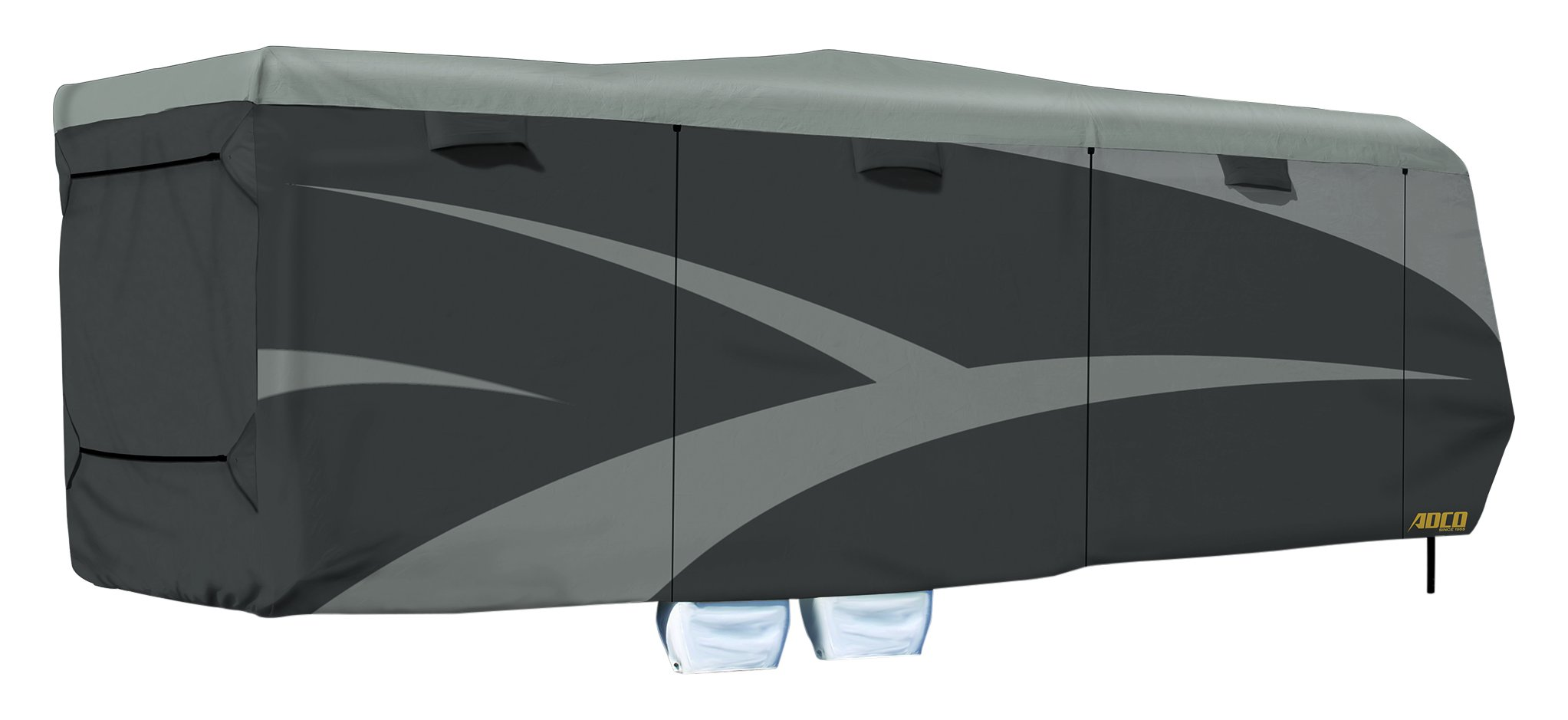 ADCO 52275 Toy Hauler Designer Series SFS AquaShed Cover, Fits 30'1''-33'6'' Trailers, Gray by ADCO (Image #1)
