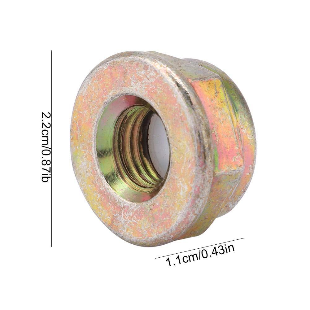 Sorand M10x1,25-Mutter Universal M10x1,25-Linksgewindemutter Ersetzt Trimmermutter-Trimmerzubeh/ör robust und langlebig