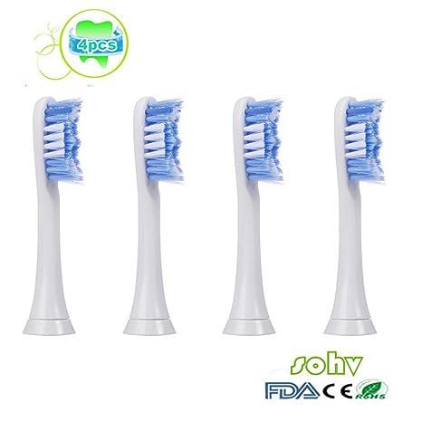 SOHV® cabezales de cepillo de dientes estándar. Philips Sonicare PowerUp recambios. Totalmente compatibles con los ...