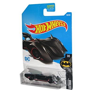 Hot Wheels 2020 DC Batman Batmobile (Brave and The Bold) 190/365, Black: Toys & Games
