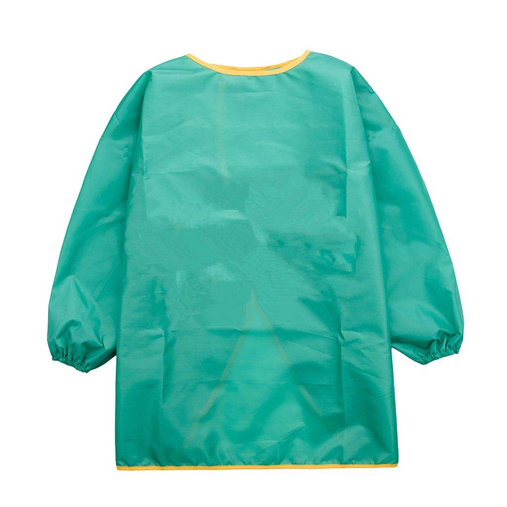Baoblaze Malkittel für Kinder - Blau, S