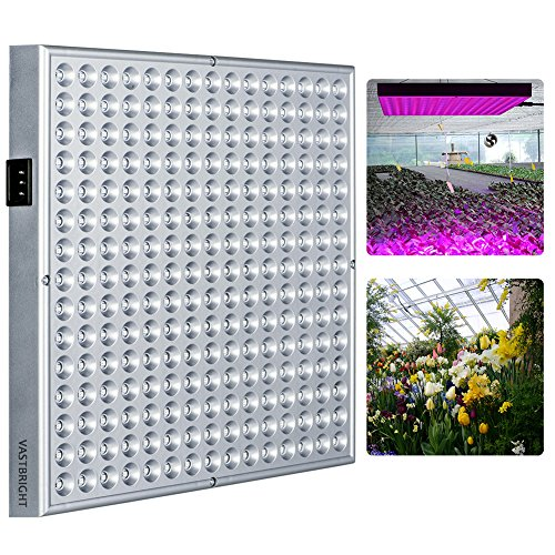 Super Bright 14W 225PCS Red Blue Grow Led Light ,Plant Grow Light ,Panel Hydroponic Plant Lamp for indoor Hydroponics Flower Vegetable Flower Growing (14 W)