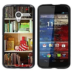 Be Good Phone Accessory // Dura Cáscara cubierta Protectora Caso Carcasa Funda de Protección para Motorola Moto X 1 1st GEN I XT1058 XT1053 XT1052 XT1056 XT1060 XT1055 // Shelf Read