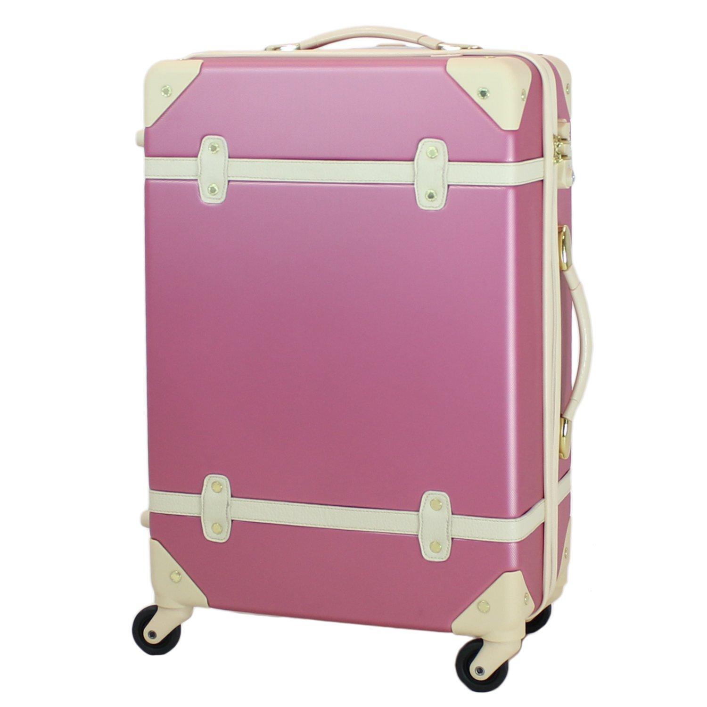 MOIERG(モアエルグ) キャリーバッグ YKK使用 軽量 キャリーケース スーツケース 3年保証 B015GKF5US M|ピンク ピンク M