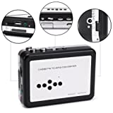Aurorax Cassette Player to MP3 Portable USB