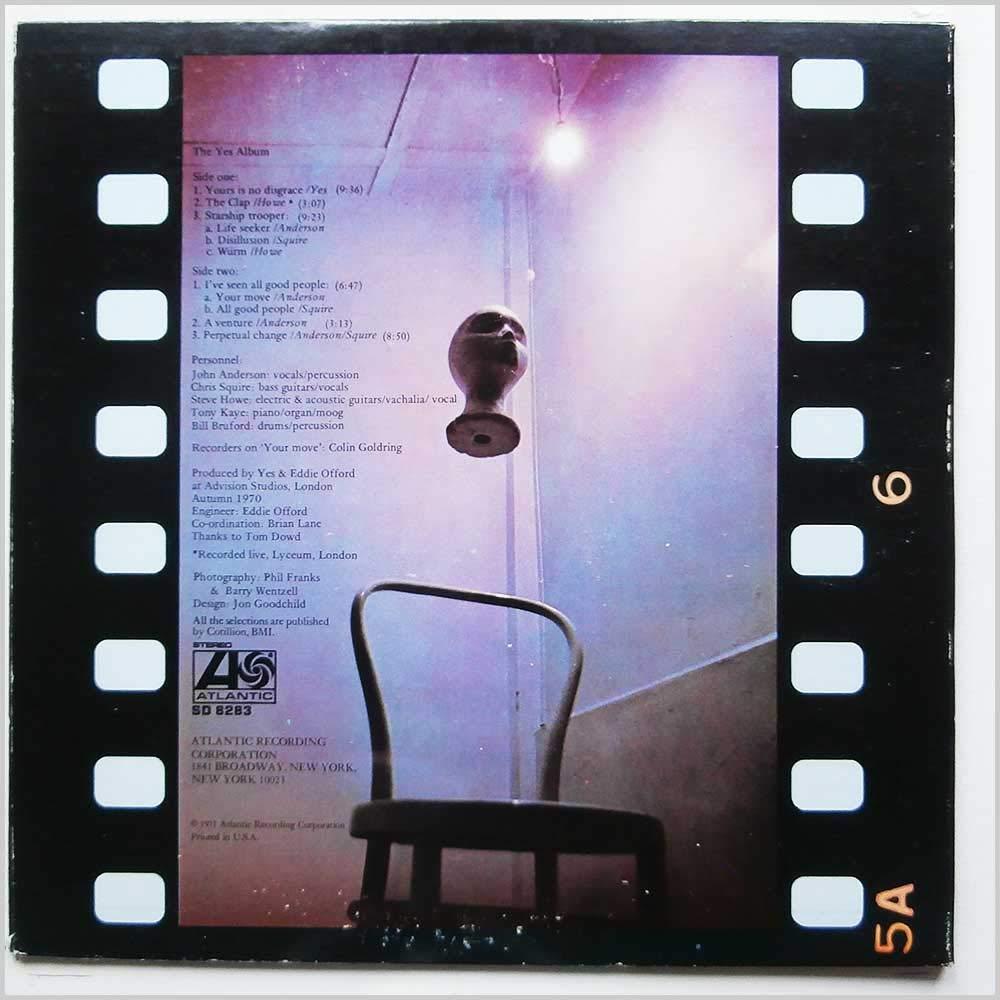 The Yes Album Cutout, Original recording, HiFi Sound