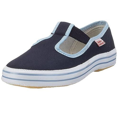 Sneakers skater blu per unisex Beck d3k53J