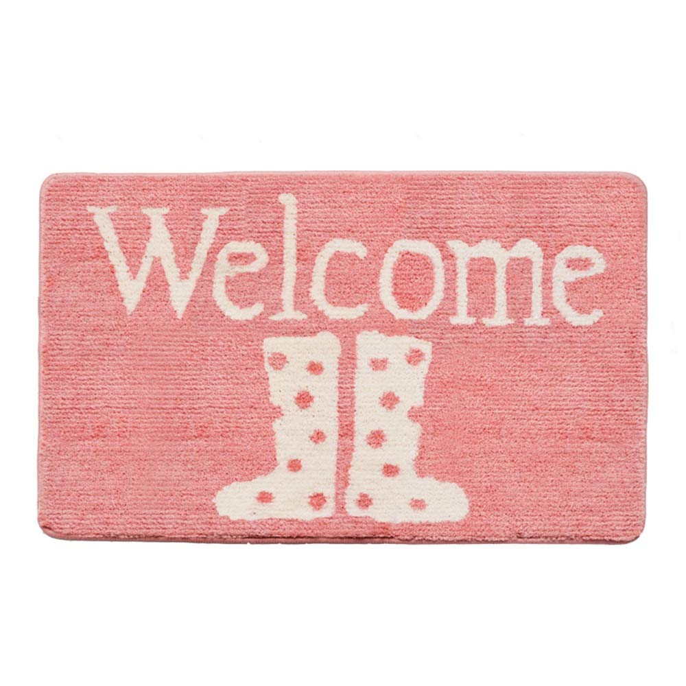DDSS Door mat Floor mat - Polyester TPR Environmentally Friendly and Tasteless Non-Slip Material, Beautiful color, Absorbent and Non-Slip, Girl Powder Multi-Function Bathroom Porch Bathroom absorben