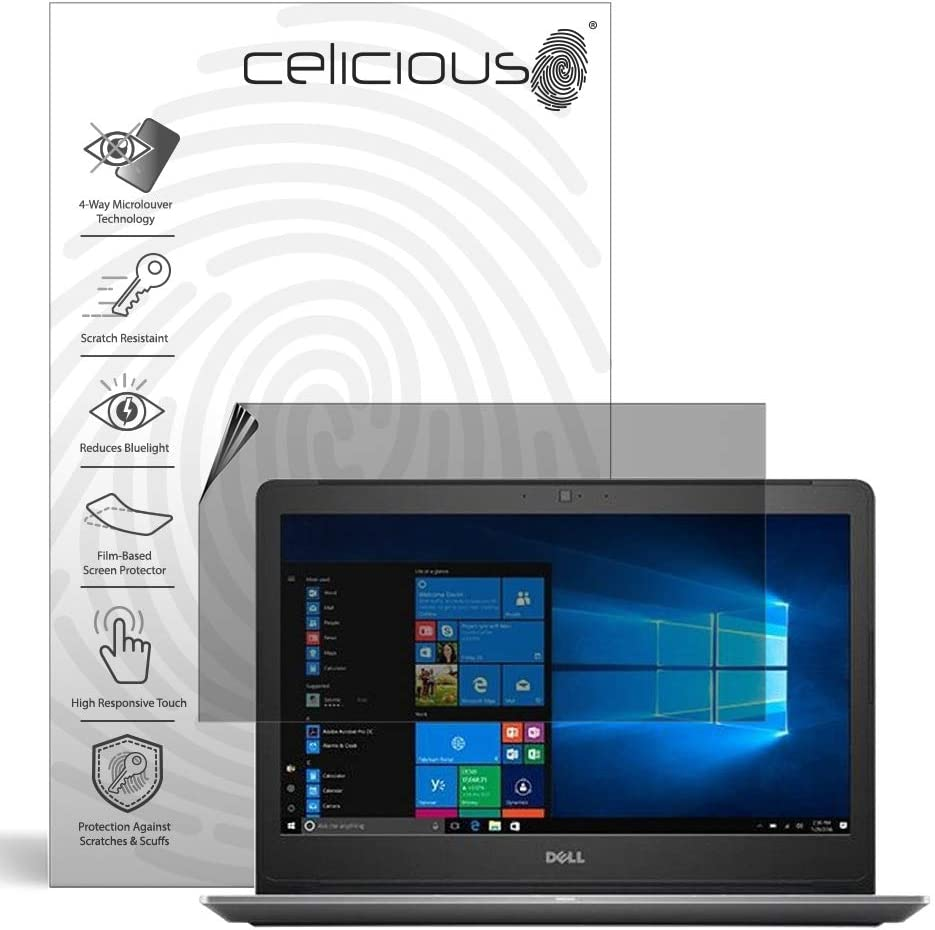Celicious Matte Anti-Glare Screen Protector Film Compatible with Dell Vostro 15 7590 Pack of 2