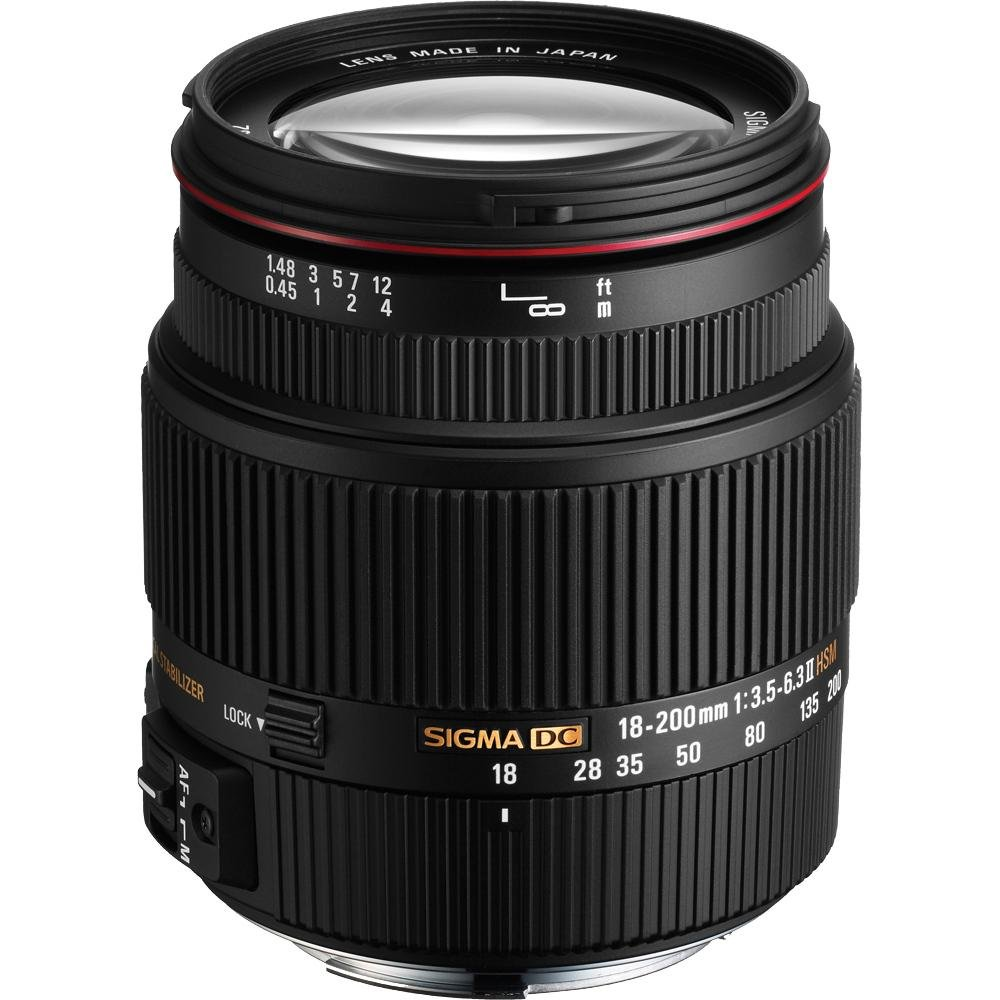 Sigma mm DC II OS HSM Objetivo para Canon mm f AF