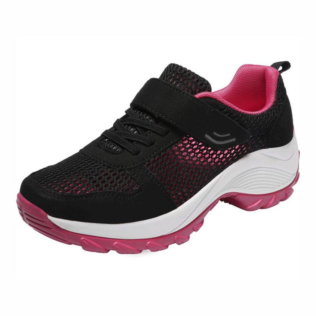 YaXuan Turnschuhe im Freien, Rutschfeste Damen-Ineinander greifen-Schuhe, Starke untere gehende Schuhe, Breathable Ineinander greifen-Mutter-Schuhe (Farbe : B, Größe : 40)