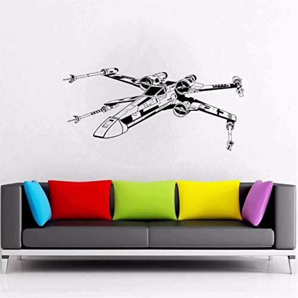 HHCUIJ Etiqueta de la pared Tatuajes de pared Wars X Wing Fighter ...