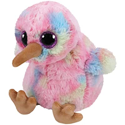 Ty 36415Kiwi Bunt 24cm Beanie Boo's–Multicoloured: Toys & Games