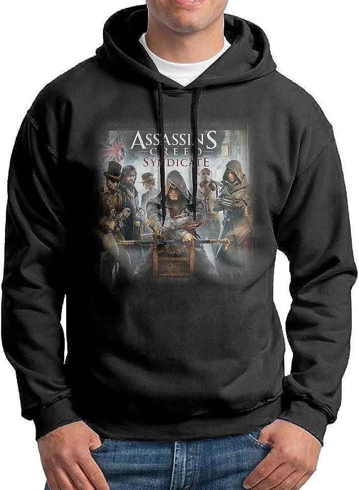 Mens Assassins Creed Syndicate Fashion Hoodie Sweatshirt