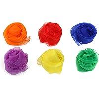 PIXNOR Colors Nylon Scarves Colors
