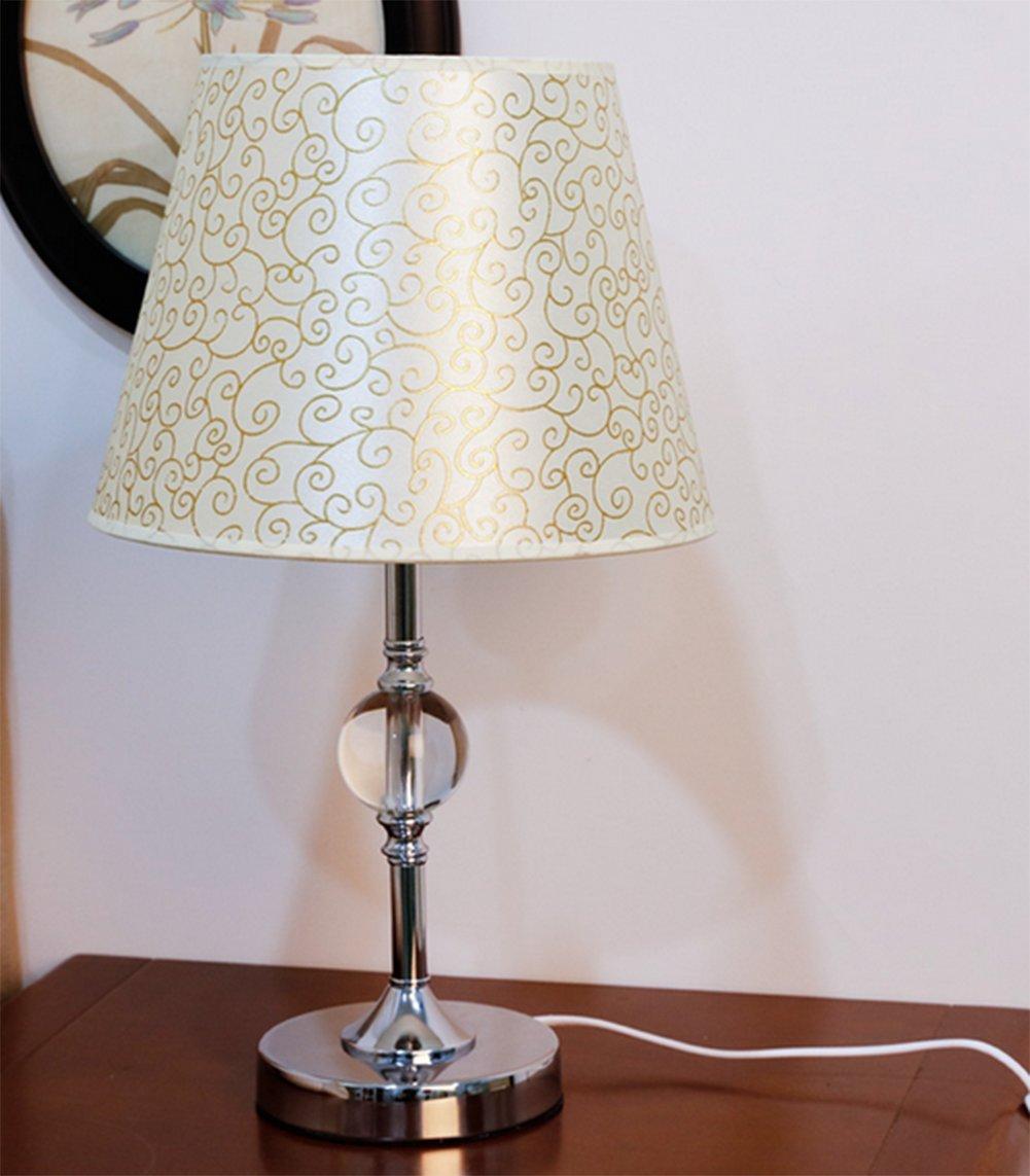Dormitorio lámpara de mesa Lámpara de noche Lámpara mesa de mesa de cristal Salón de la moda creativa estudio de la lámpara de mesa led-H 05f8e8