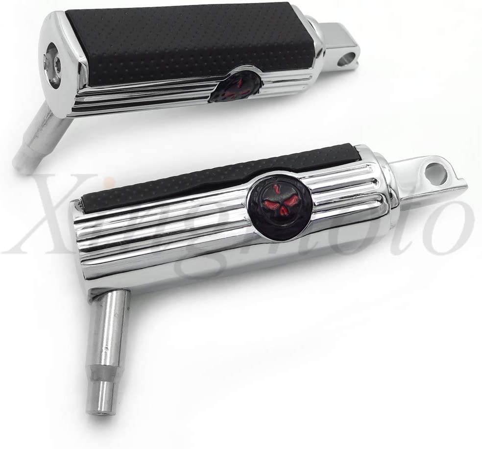 NBX Rear Replacement of Chrome Billet Aluminum Wing Mini Floorboard For Compatible with Victory Cross Roads all model