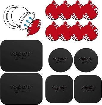 Volport Metallplatte Für Magnet Kfz Handyhalterung Elektronik