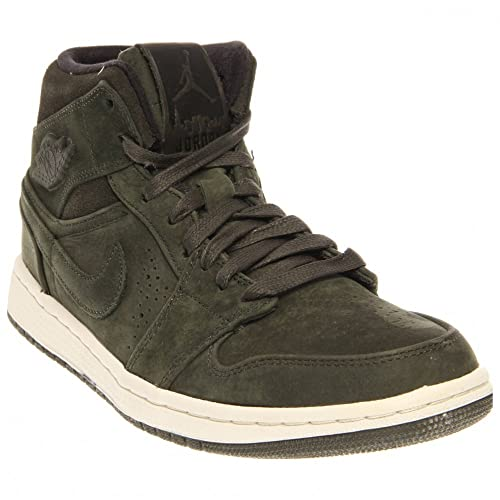 Militare 41 Air Nike Nouveau Scarpe Verde Amazon Jordan 1 Mid it wxO001fYq