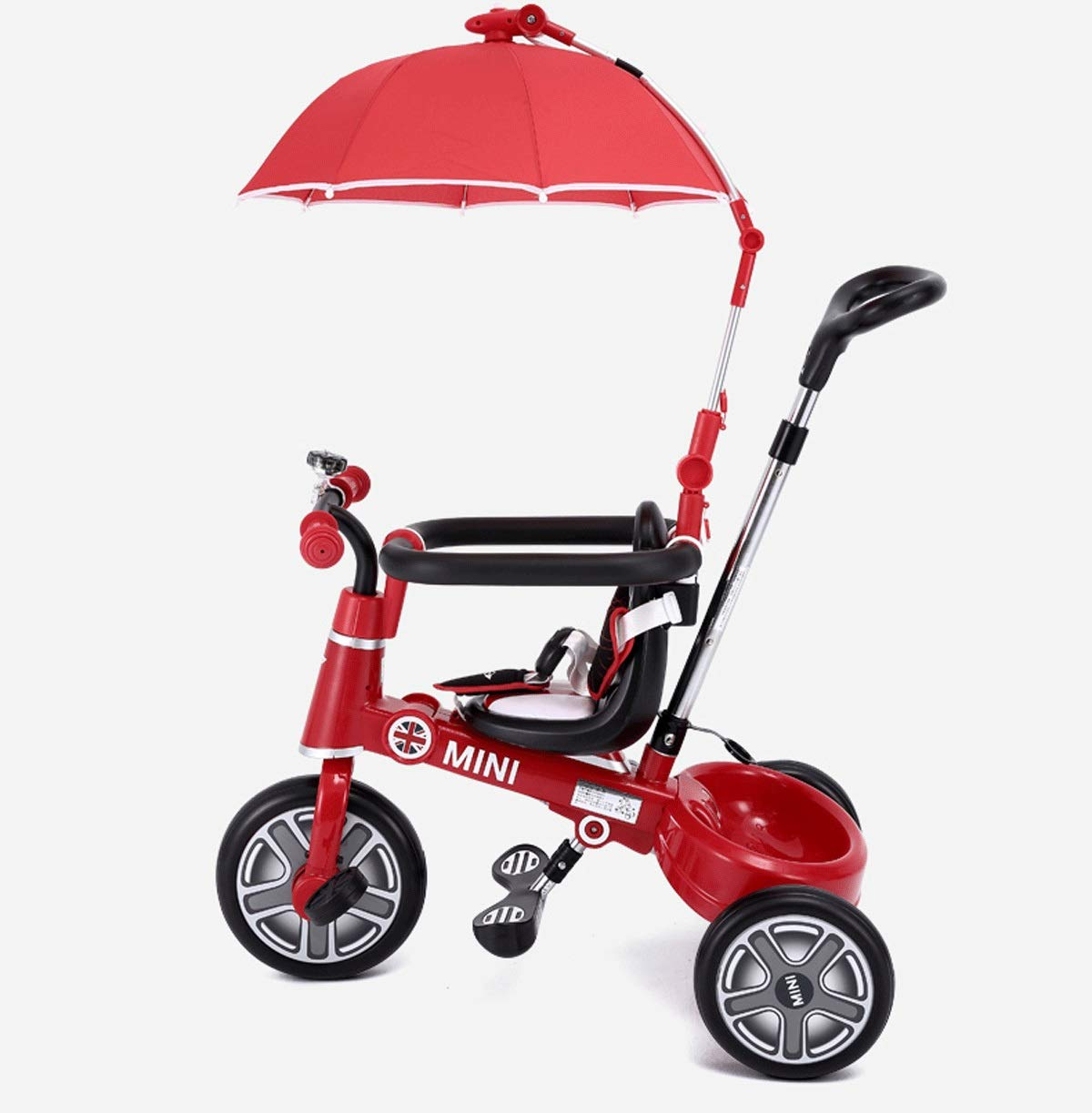Baianju Children's Tricycles Kids Baby Strollers Folding Bikes Bicycles Can Be Used for Strollers Male and Female Baby Tricycles