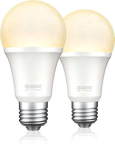 Upgraded Gosund Smart Light Bulb 75W Equivalent E26 8W Work