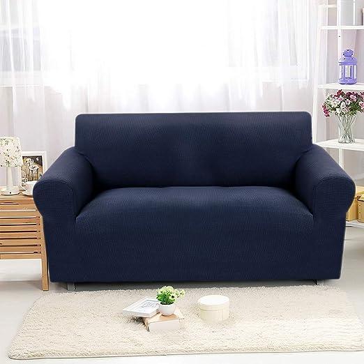 SearchI Fundas de Sofás 2 Plazas,Tejido Jacquard de poliéster y Cubre Sofa Universal Cubierta de Muebles Elegante y Duradera Protector para Sofá ...