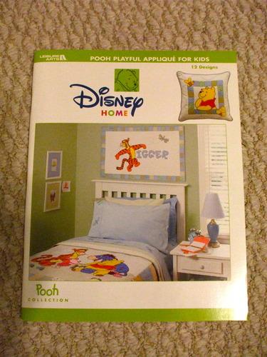 Disney Home - Pooh Playful Applique For Kids