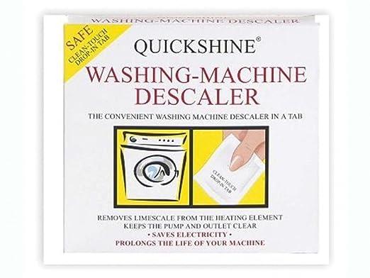 Quickshine lavadora descalcificador bolsita bolsa Quick Shine ...