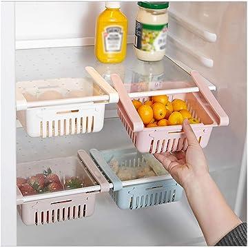 1PC Home Kitchen Refrigerator Organiser Rack Fruit Vegetable Storage Box