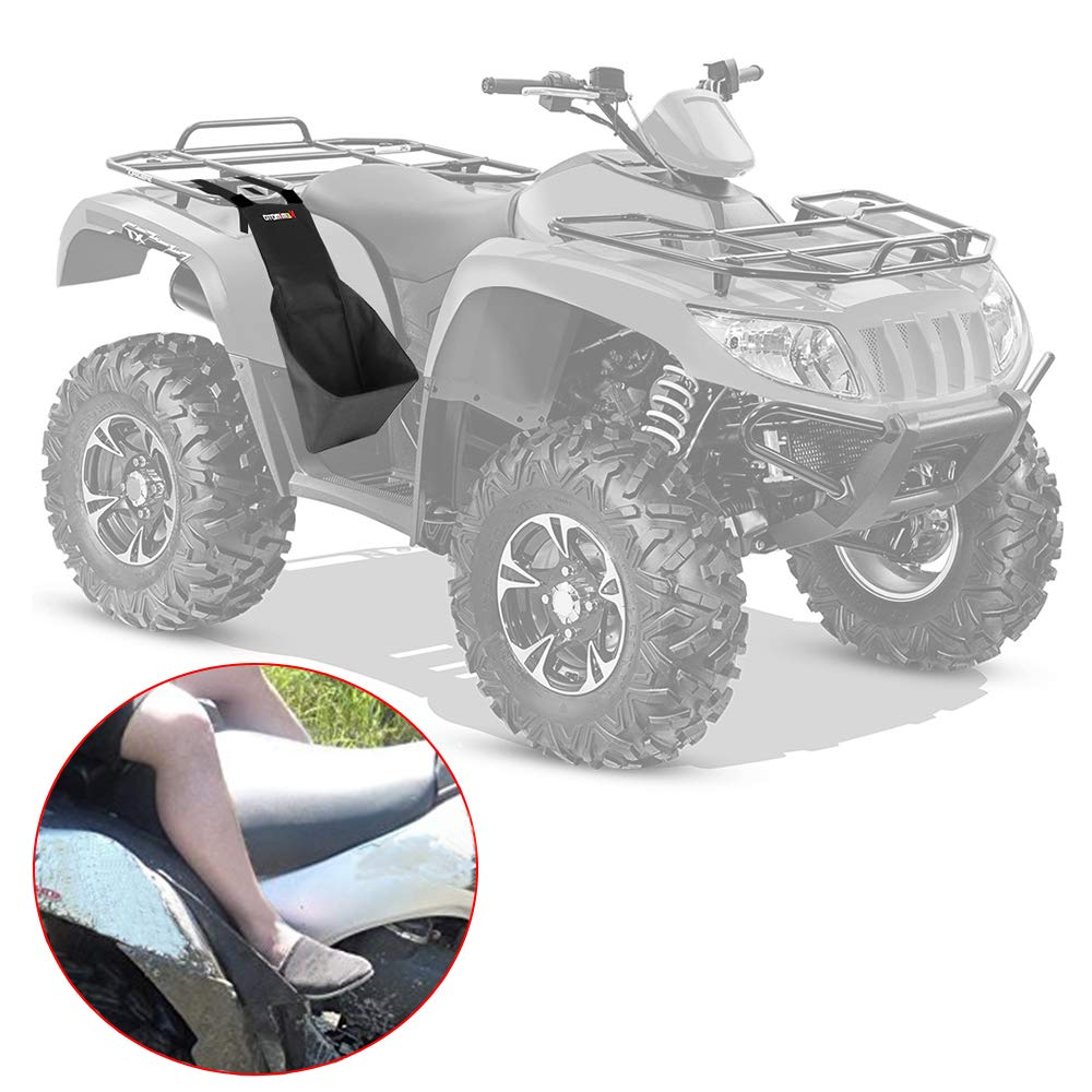 ATV Footrest Rear Passenger Foot Pegs Universal Fit Polaris Sportsman 400 450 500 550 700 800 850 Honda Rancher TRX300 350 TRX420 Fourtrax 300 Foreman Yamaha Grizzly Kodiak VicsaWin