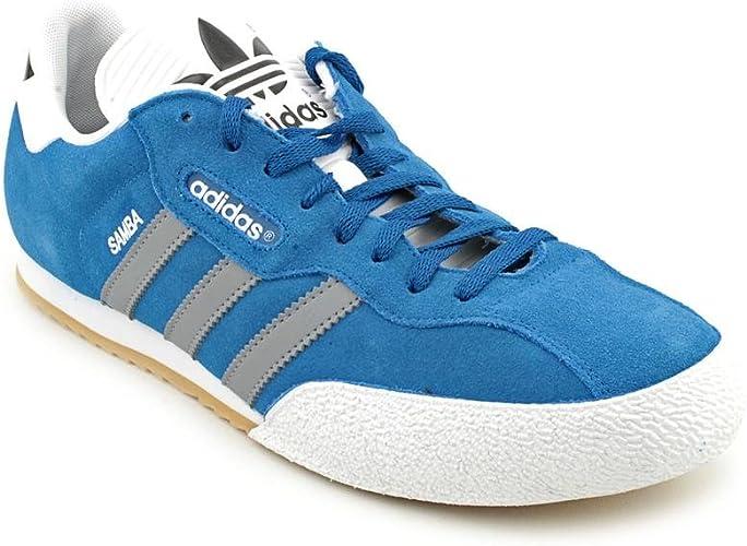 adidas Samba Super Mens Blue Suede