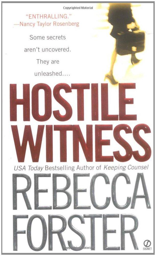 Hostile Witness Josie Bates Thriller product image