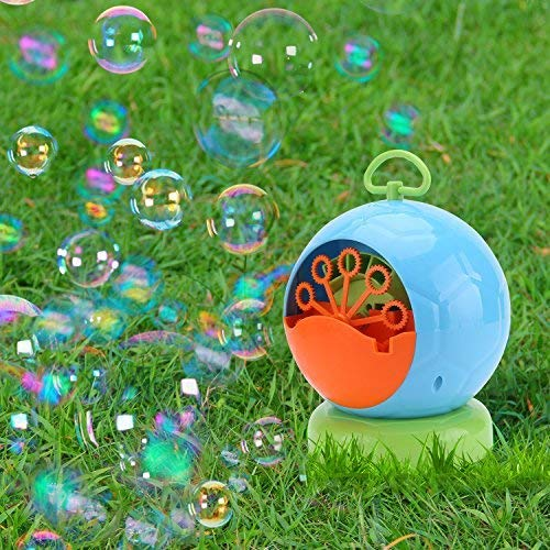 JCSHHUB Bubble Machine - Automatic Bubble Maker Portable Blower Use for Party, Barbecue, Match, Wedding Gift for Kids & Adult with 4 AA Battery (Not Include)